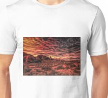 Arches Abstract Unisex T-Shirt