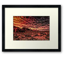 Arches Abstract Framed Print