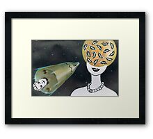 Lost My Head Framed Print