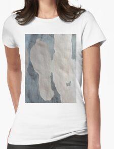 Australian design - Abstract Gum Tree Bark 2 Womens Fitted T-Shirt