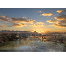 Reflections On Golden Pond Photographic Print
