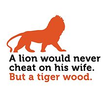 A Tiger Wood cheat on his wife... by artpolitic