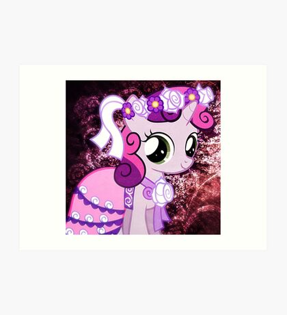 Sweetie Belle Art Print