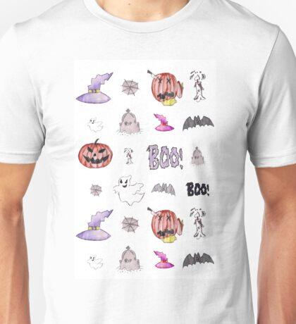 Halloween Pattern Unisex T-Shirt