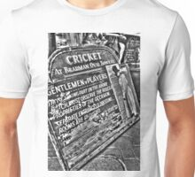 Gentlemen v Players. Unisex T-Shirt
