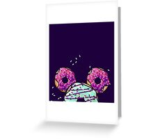 Pop Donut -  Berry Frosting Greeting Card