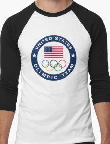 United States Olympic Team Men's Baseball ¾ T-Shirt