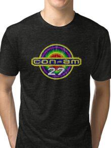 Outland Con-Am 27 outpost crest grunge Tri-blend T-Shirt