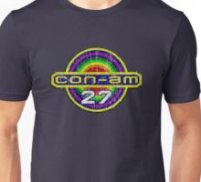 Outland Con-Am 27 outpost crest grunge Unisex T-Shirt