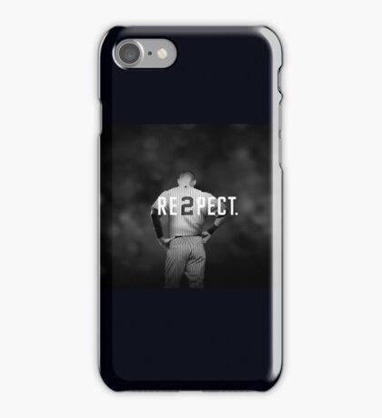 Derek Jeter Resp2ct iPhone Case/Skin