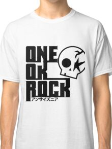 One Ok Rock with skull Black Classic T-Shirt