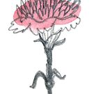 Carnation #6 - sticker only by Vicky Webb