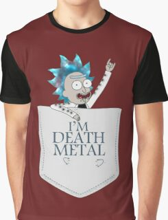 Rick The Death Metal Graphic T-Shirt