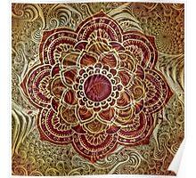Fractal Meets Mandala  Poster