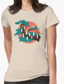 Spirits of the Trees Womens Fitted T-Shirt