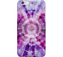 Purple Mandala Watercolour  iPhone Case/Skin