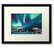 Aurora farm Framed Print