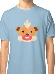 Pokemon, Spaced Growlithe Classic T-Shirt