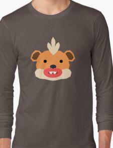 Pokemon, Spaced Growlithe Long Sleeve T-Shirt