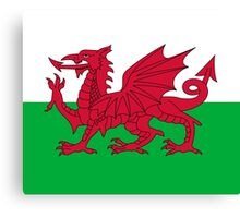 Wales Dragon Duvet Cover Bedspread Welsh Flag Canvas Print