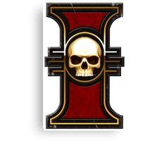 Inquisition Rosette Warhammer 40k  Canvas Print
