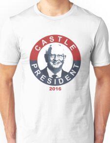 Darrel Castle For President Unisex T-Shirt