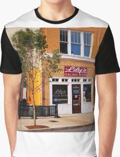 Italian Bistro Graphic T-Shirt