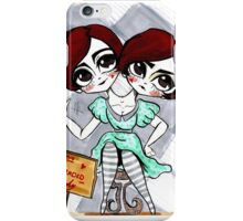 Two Headed Lady iPhone Case/Skin