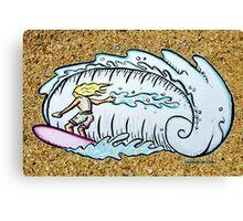 Summer Surfin' Canvas Print