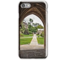 Archway into Princeton iPhone Case/Skin