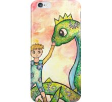 The Boy and his Dragon  iPhone Case/Skin