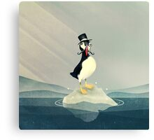 Lord Puffin Canvas Print