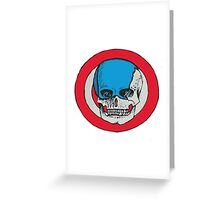 captain scull Greeting Card