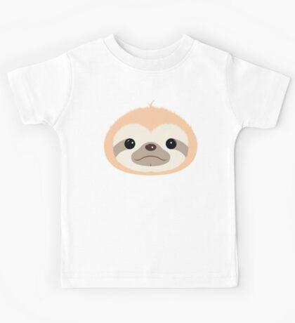 Super Cute Sloth Kids Tee