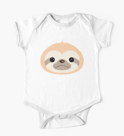 Super Cute Sloth One Piece - Short Sleeve
