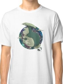 Totoro Flying In The Sky Classic T-Shirt