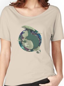 Totoro Flying In The Sky Women's Relaxed Fit T-Shirt