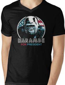 Harambe for President Mens V-Neck T-Shirt