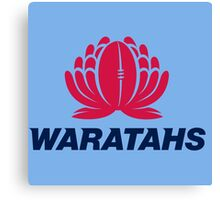 WARATAHS RUGBY CLUB Canvas Print