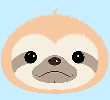 Super Cute Sloth II by J. Danion