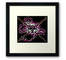 Brains and Bone Framed Print
