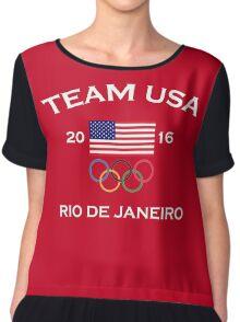 Team USA Rio 2016 Chiffon Top
