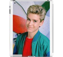 Zack Morris 1 iPad Case/Skin