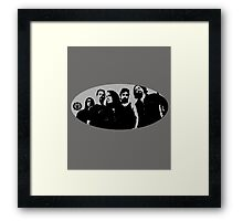 band 5 Framed Print
