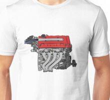 4bangR - Honda b18 JDM engine design Unisex T-Shirt
