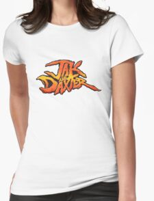 Jak and Daxter Logo Womens Fitted T-Shirt