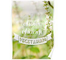 Go Vegetarian Poster
