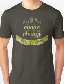 Go Vegetarian Unisex T-Shirt