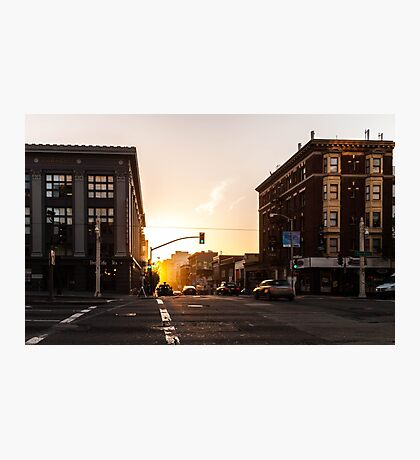 San Francisco Sunset Photographic Print