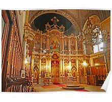 Inside the Orthodox Cathedral of St George, Novi Sad Poster